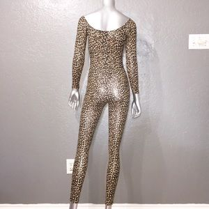 American Apparel Other - American Apparel leopard catsuit.